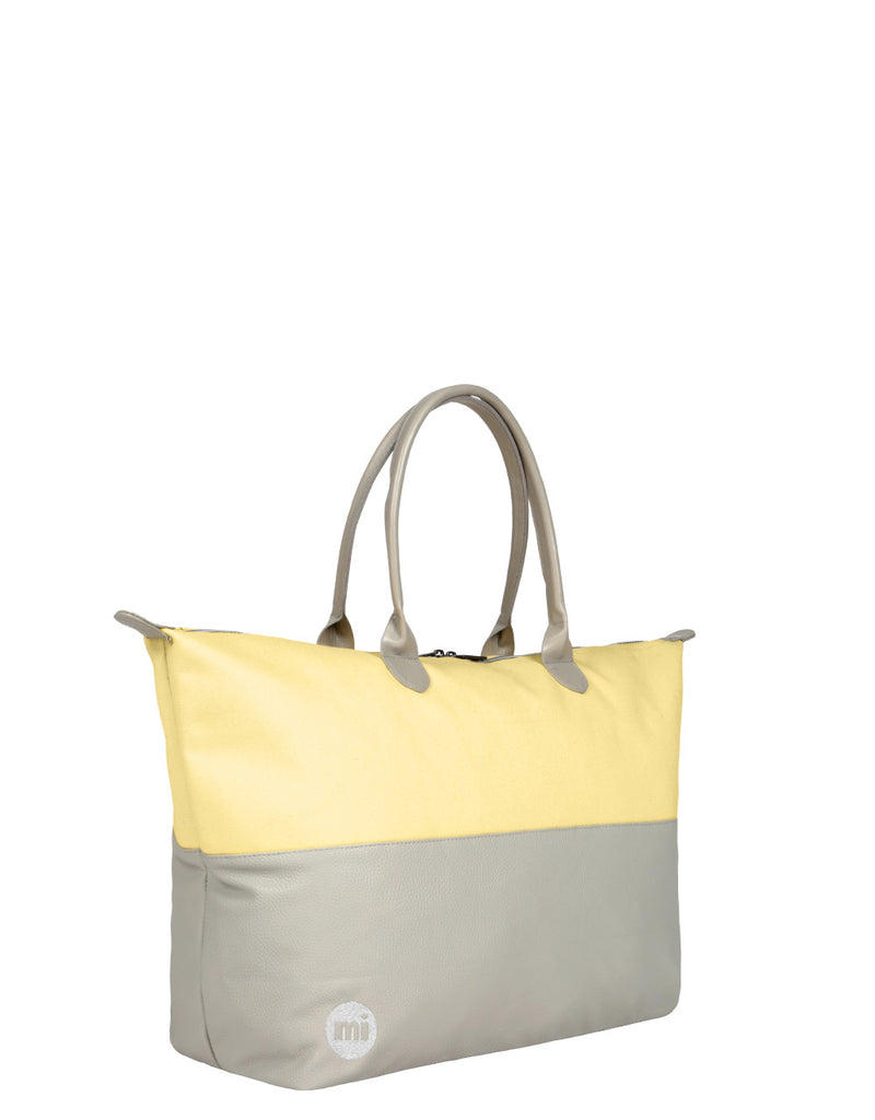 Mi-Pac Gold Weekender - Pastel Lemon Grey