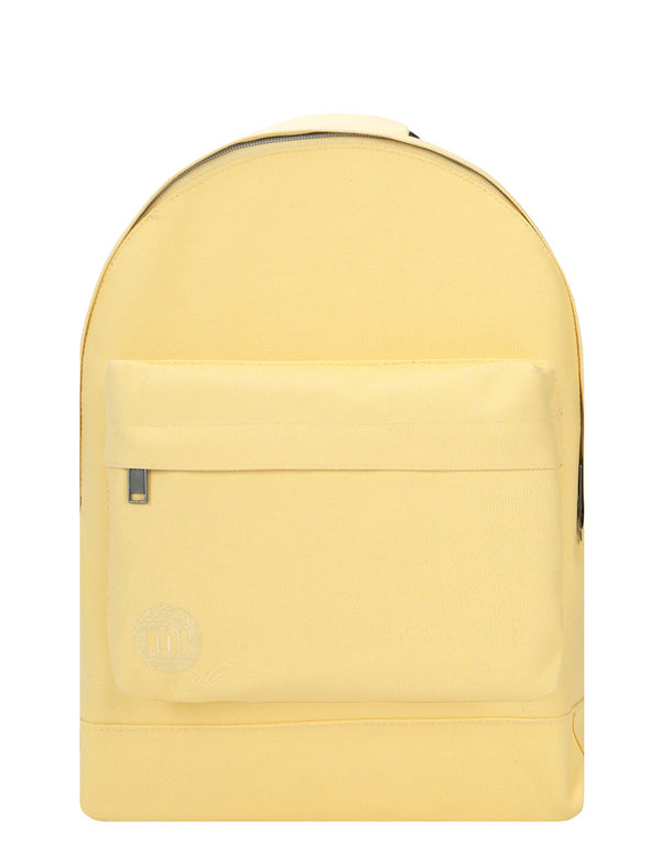 Mi-Pac Backpack - Canvas Pastel Lemon