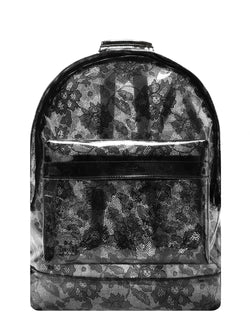 Mi-Pac Backpack - Transparent Lace Black