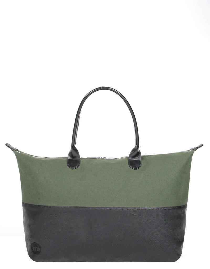 Mi-Pac Weekender - 50/50 Canvas Tumbled Deep Green/Black