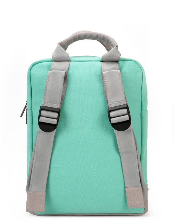 Mi-Pac Tote Backpack - Canvas Mint