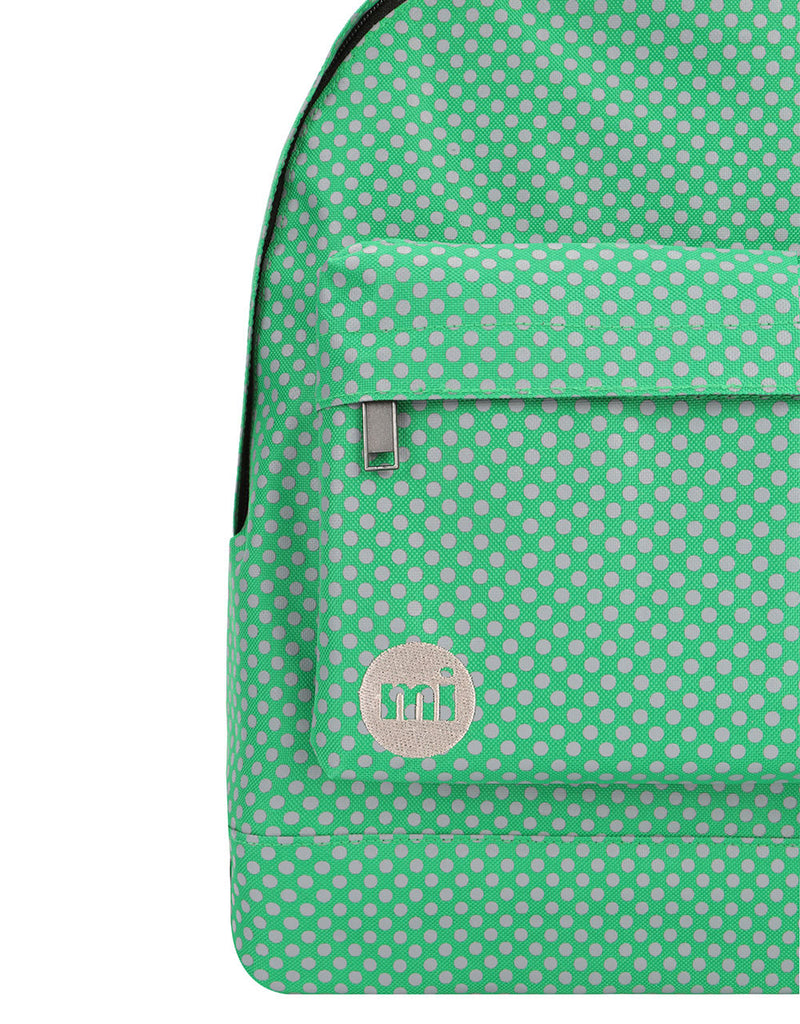 Mi-Pac Backpack - Microdot Leaf Green