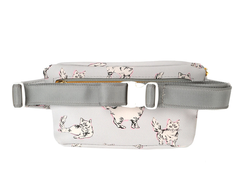Mi-Pac Bum Bag - Cats Light Grey