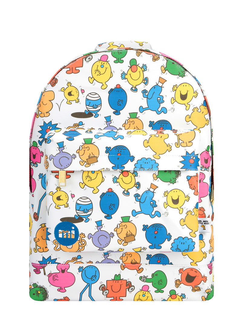 Mi-Pac x Mr. Men Gold Backpack - Multi Characters