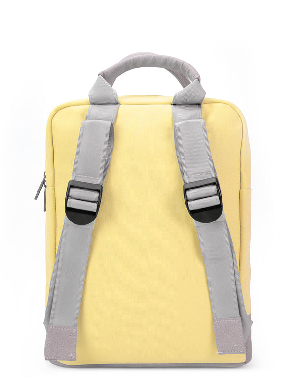 Mi-Pac Tote Backpack - Canvas Pastel Lemon