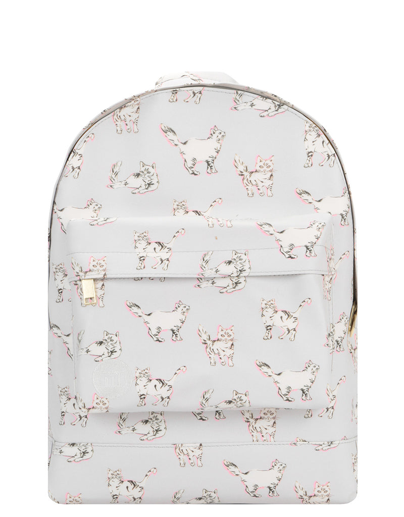 Mi-Pac Backpack - Cats Light Grey