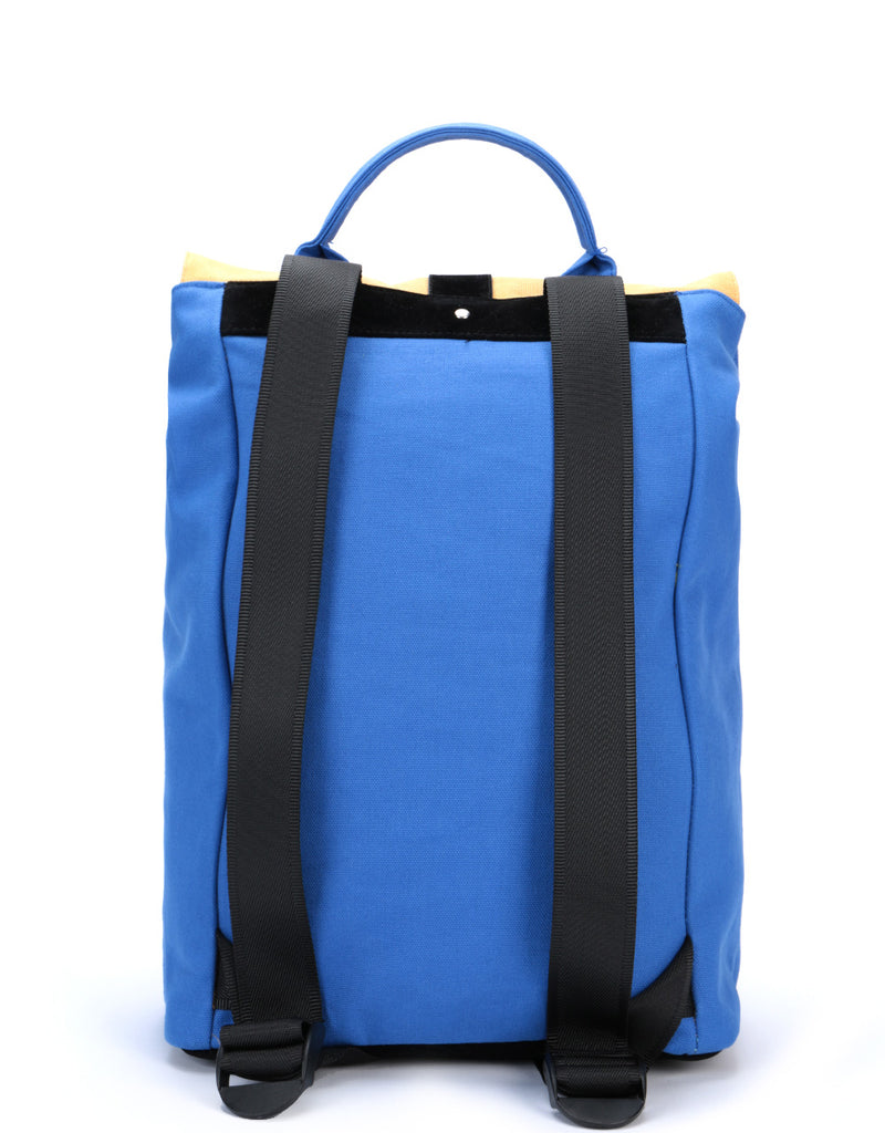 Mi-Pac Day Pack Contrast Canvas - Cobalt/Camel