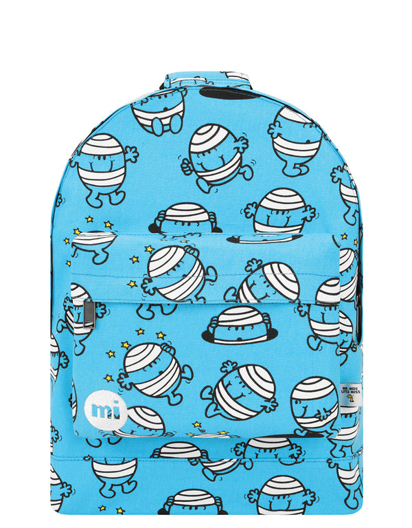 Mi-Pac x Mr. Men Backpack - Mr Bump Blue