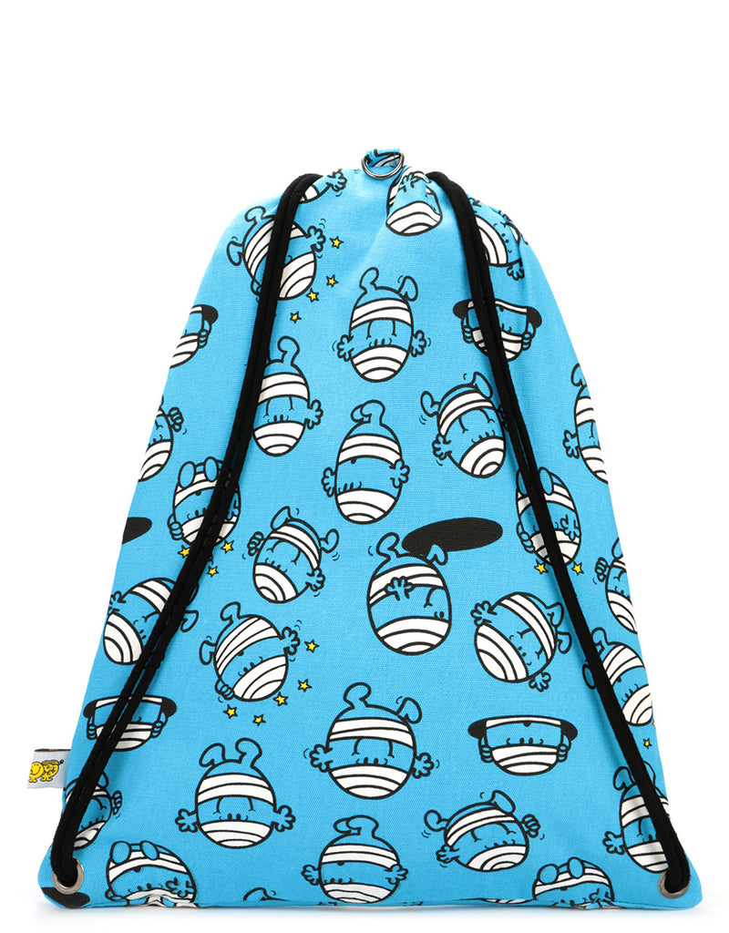 Mi-Pac x Mr. Men Kit Bag - Mr Bump Blue