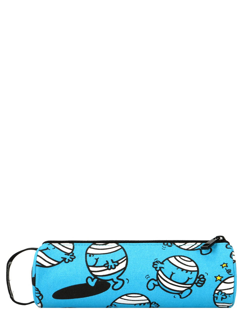 Mi-Pac x Mr. Men Pencil Case - Mr Bump  Blue