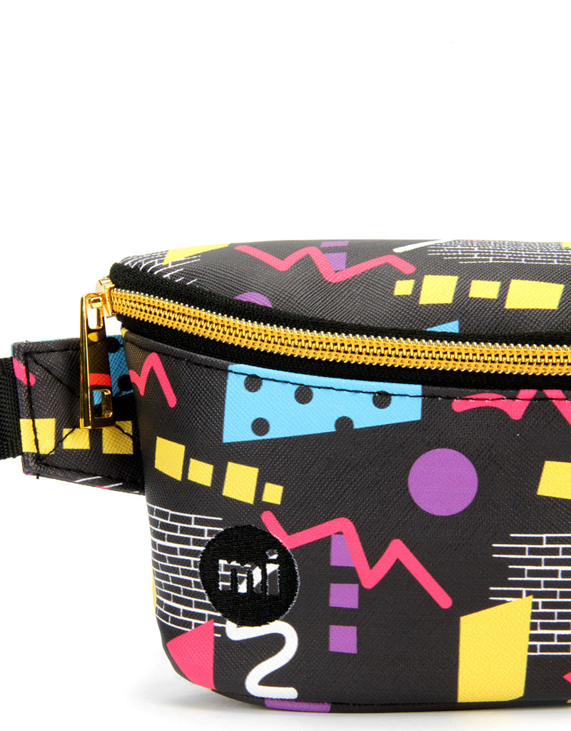 Mi-Pac Bum Bag 80's Pop - Black