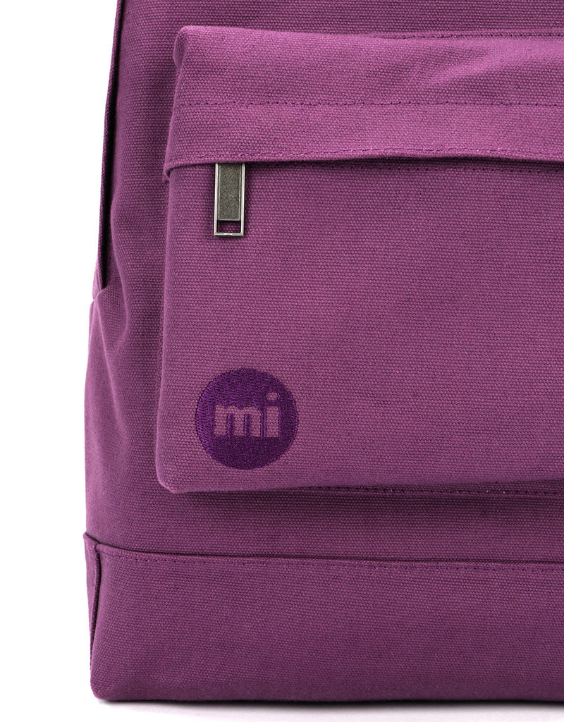 Mi-Pac Backpack - Canvas Plum