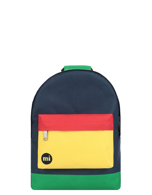 Mi-Pac Mini - Colour Block Navy/Pastel Yellow