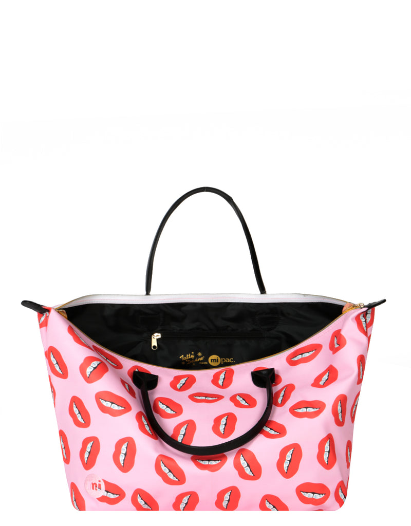 Mi-Pac x Tatty Devine Gold Weekender - Dental Bling Pink