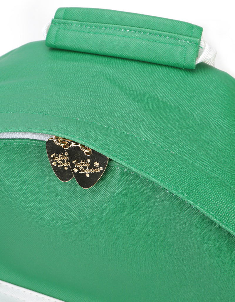 Mi-Pac x Tatty Devine Gold Backpack - Gin Green