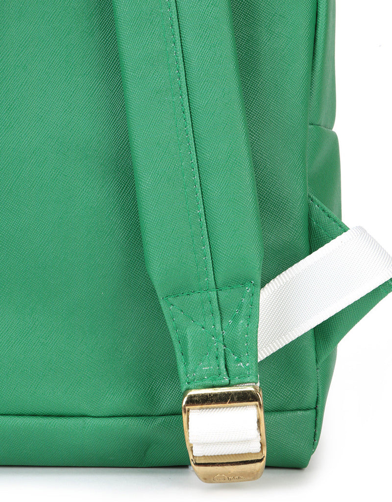 Mi-Pac x Tatty Devine Gold Mini Backpack - Gin Green