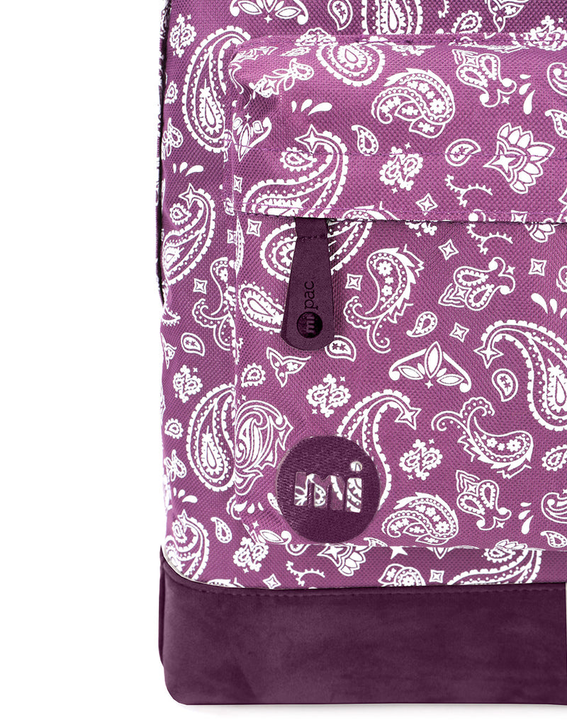 Mi-Pac Backpack - All Bandana True Plum