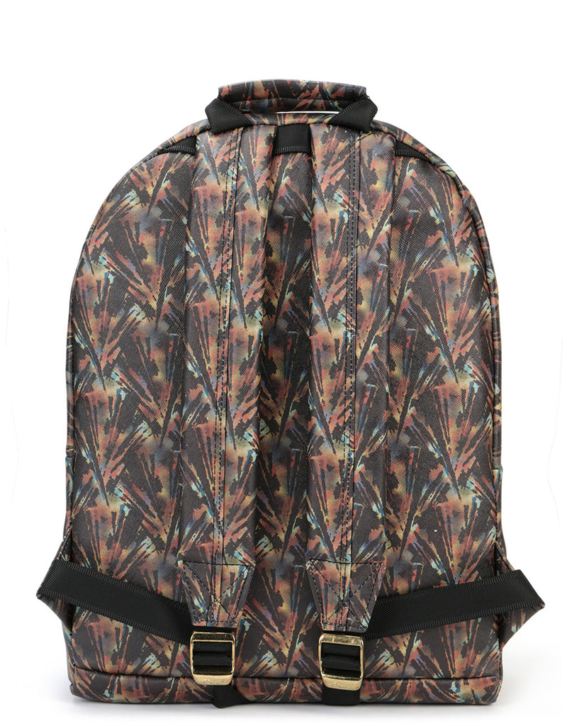 Mi-Pac Gold Backpack - Tortoise Shell Brown/Teal