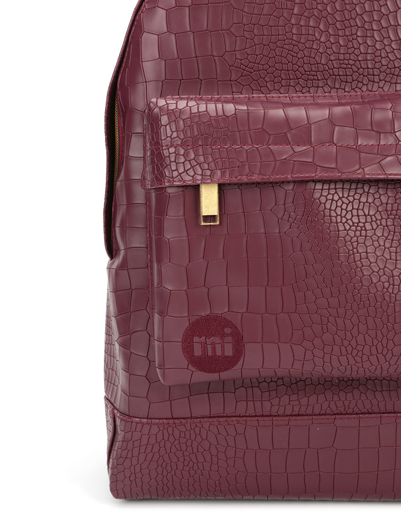 Mi-Pac Gold Backpack - Matt Crock Garnet