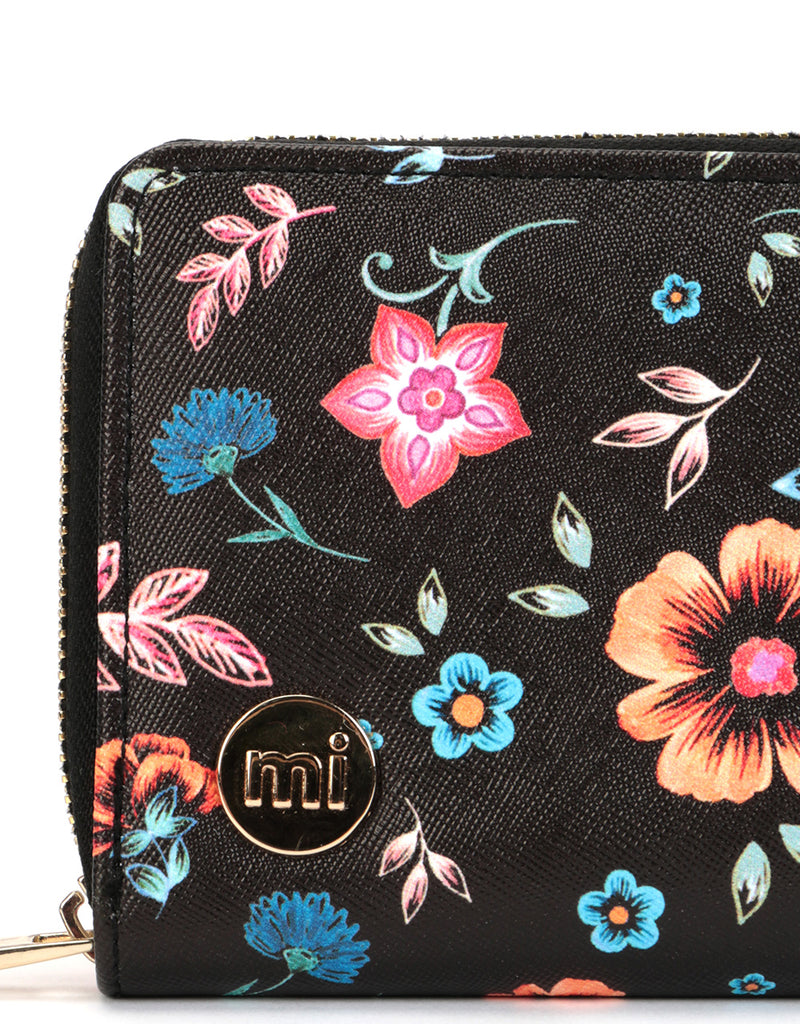 Mi-Pac Gold Zip Purse - Crafted Folk Black