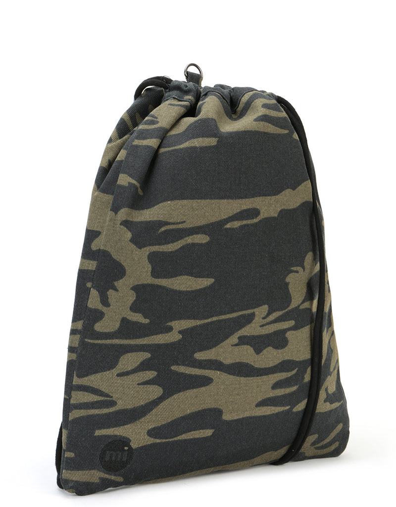 Mi-Pac Kit Bag - Canvas Camo Khaki