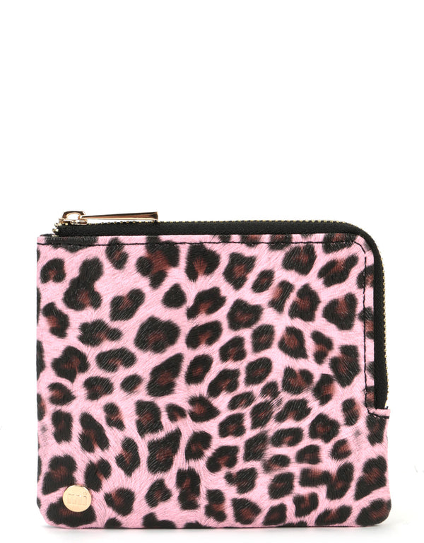 Mi-Pac Coin Holder - Cheetah Pink