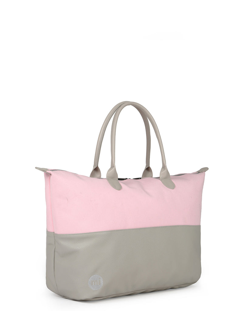 Mi-Pac Weekender - 50/50 Canvas Tumbled Pink/Grey