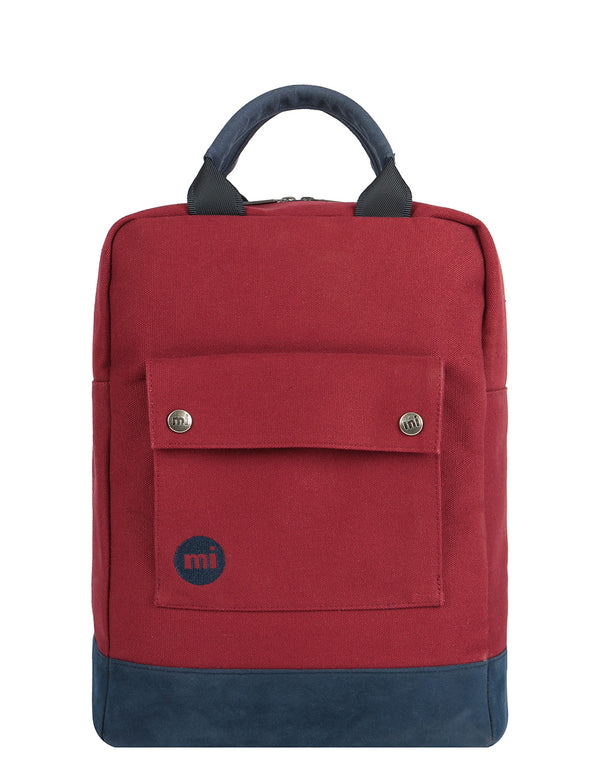 Mi-Pac Tote Backpack - Canvas Garnet
