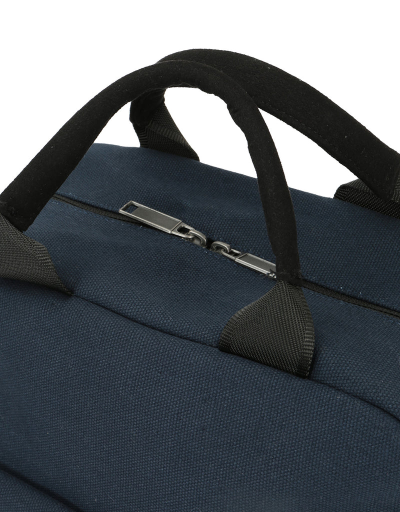 Mi-Pac Tote Backpack - Canvas Blue Black
