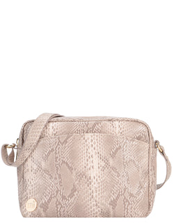 Mi-Pac Gold Cross Body - Snake Natural
