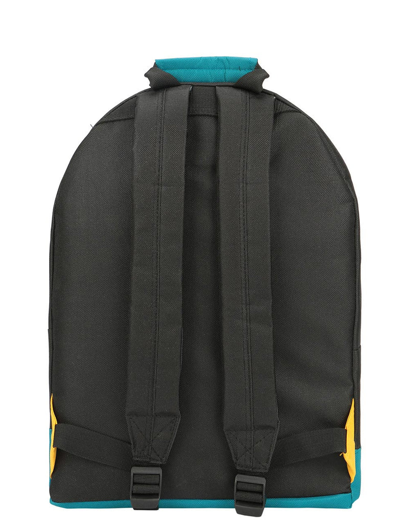 Mi-Pac Colour Block Backpack - Black/True Plum