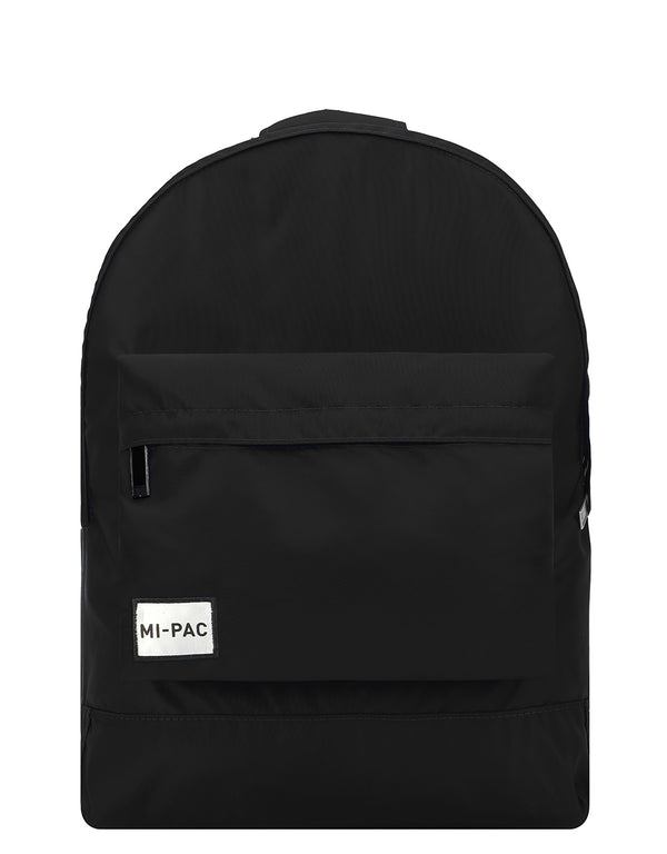 Mi-Pac Nylon Backpack - Black
