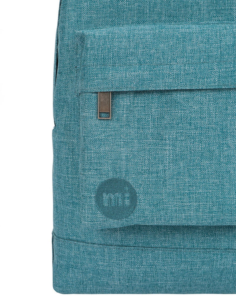 Mi-Pac Crosshatch Backpack - Sea Green