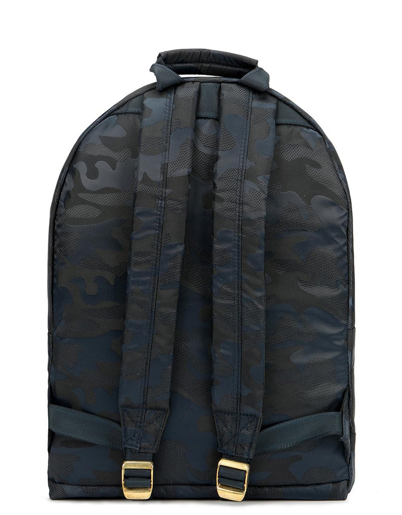 Mi-Pac Satin Camo Backpack - Navy