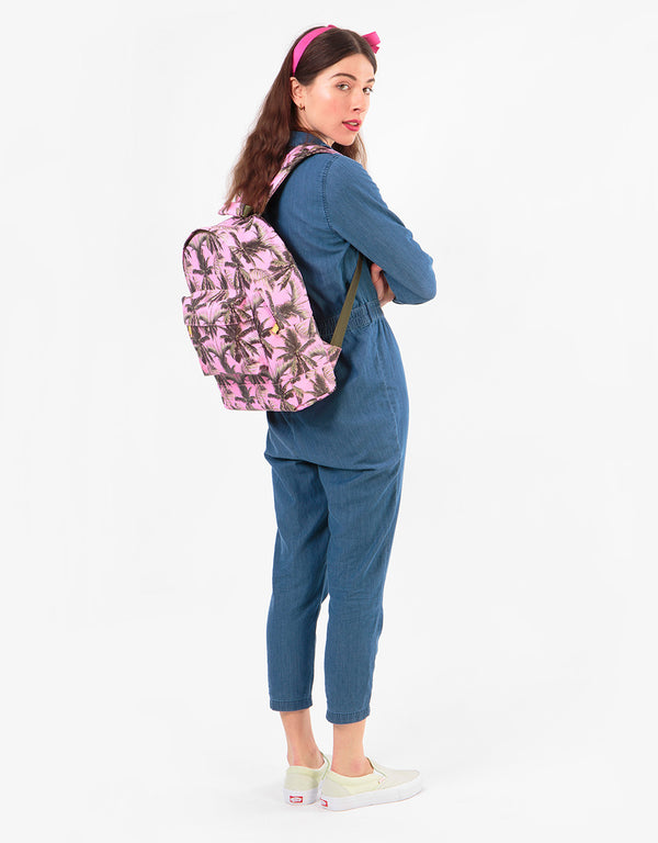 Mi-Pac Palm Trees Backpack - Pink