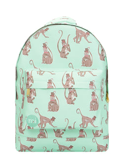 Mi-Pac Monkeys Backpack - Mint