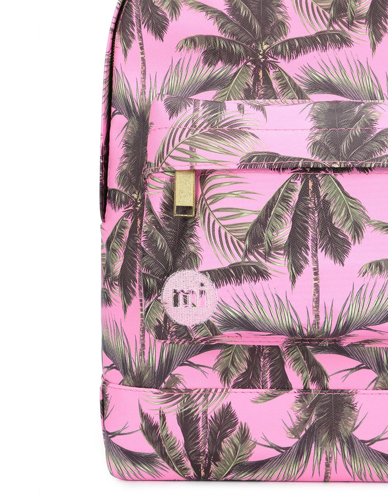 Mi-Pac Palm Trees Mini Backpack - Pink