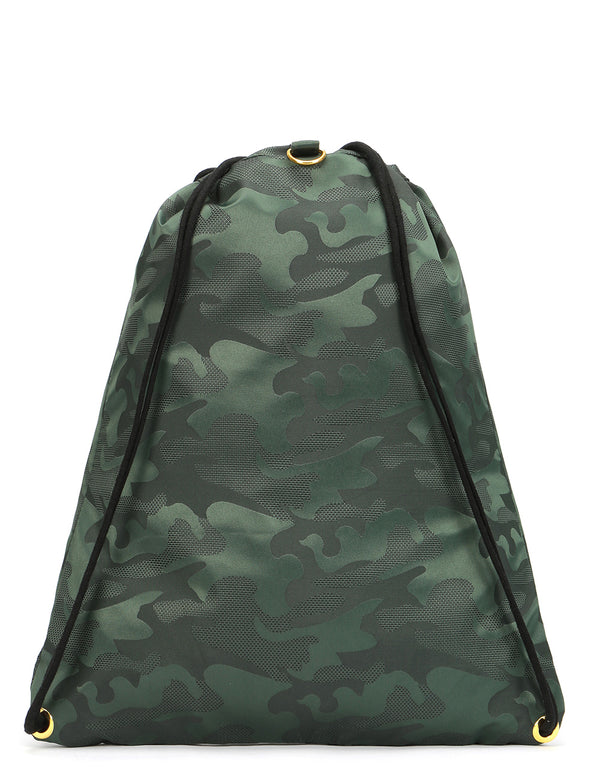 Mi-Pac Satin Camo Kit Bag - Green