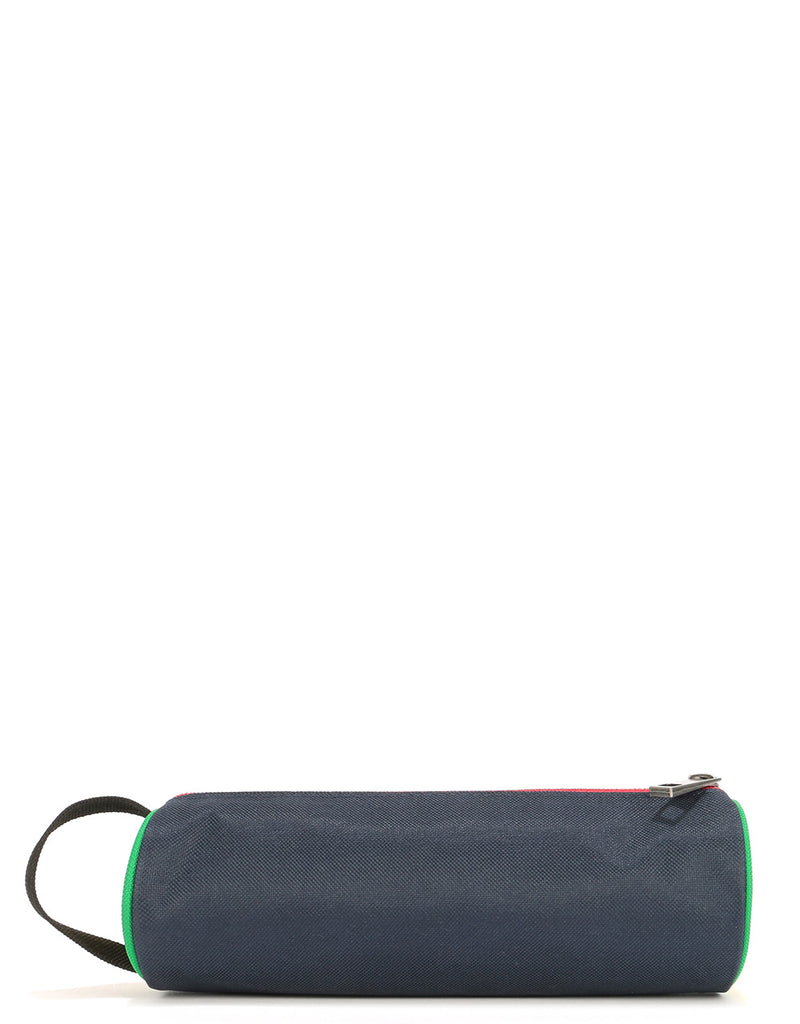 Mi-Pac Colour Block Pencil Case - Navy/Pastel Lemon