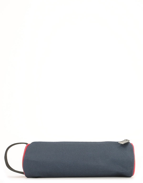 Mi-Pac Colour Block Pencil Case - Blue Black/Red