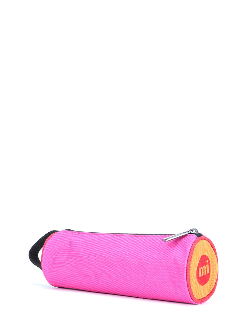 Mi-Pac Colour Block Pencil Case - Begonia Pink/Red