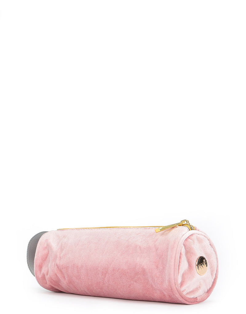 Mi-Pac Velvet Pencil Case - Dusky Pink
