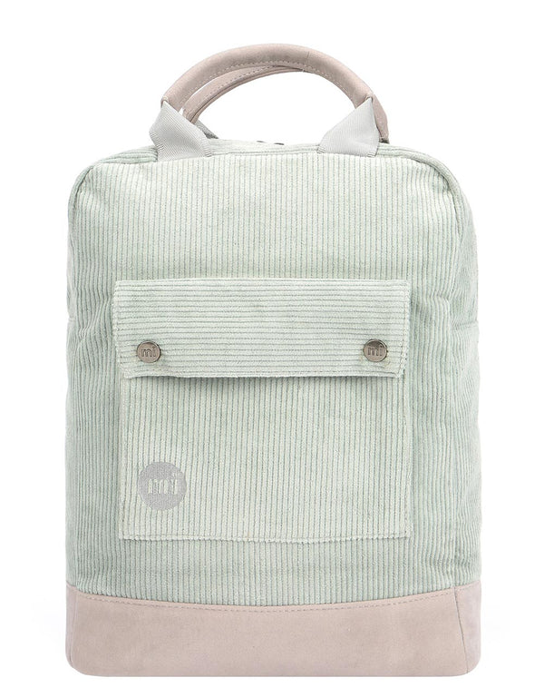 Mi-Pac Corduroy Tote Backpack - Mint