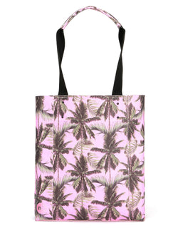 Mi-Pac North South Palm Trees Shopper - Pink