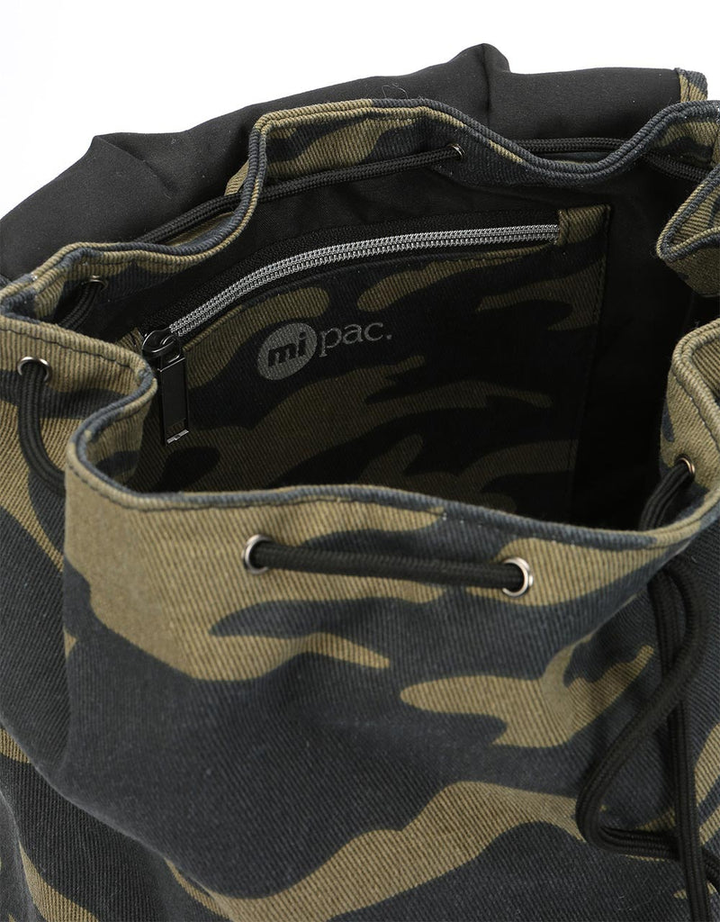 Mi-Pac Canvas Camo Trek Pack - Khaki