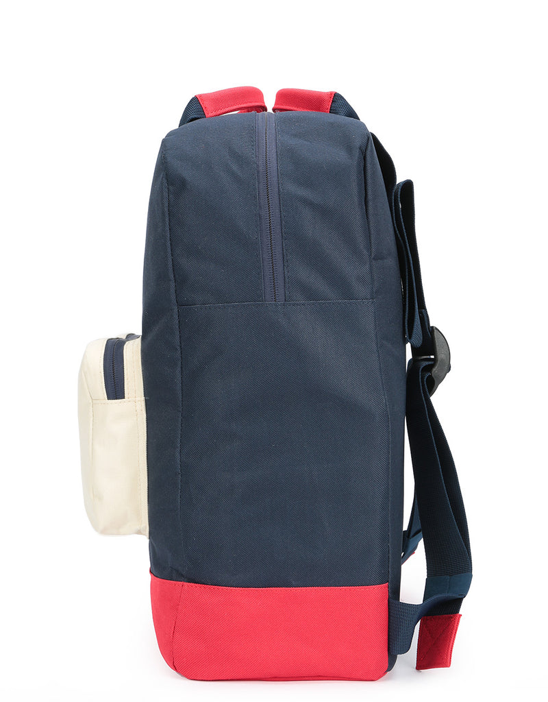 Mi-Pac Decon Colour Block Tote Backpack - Blue Black/Red