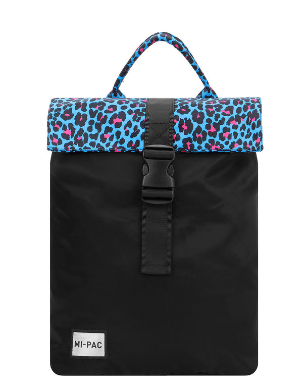 Mi-Pac Nylon Day Pack SP - Leopard Cyan/Pink