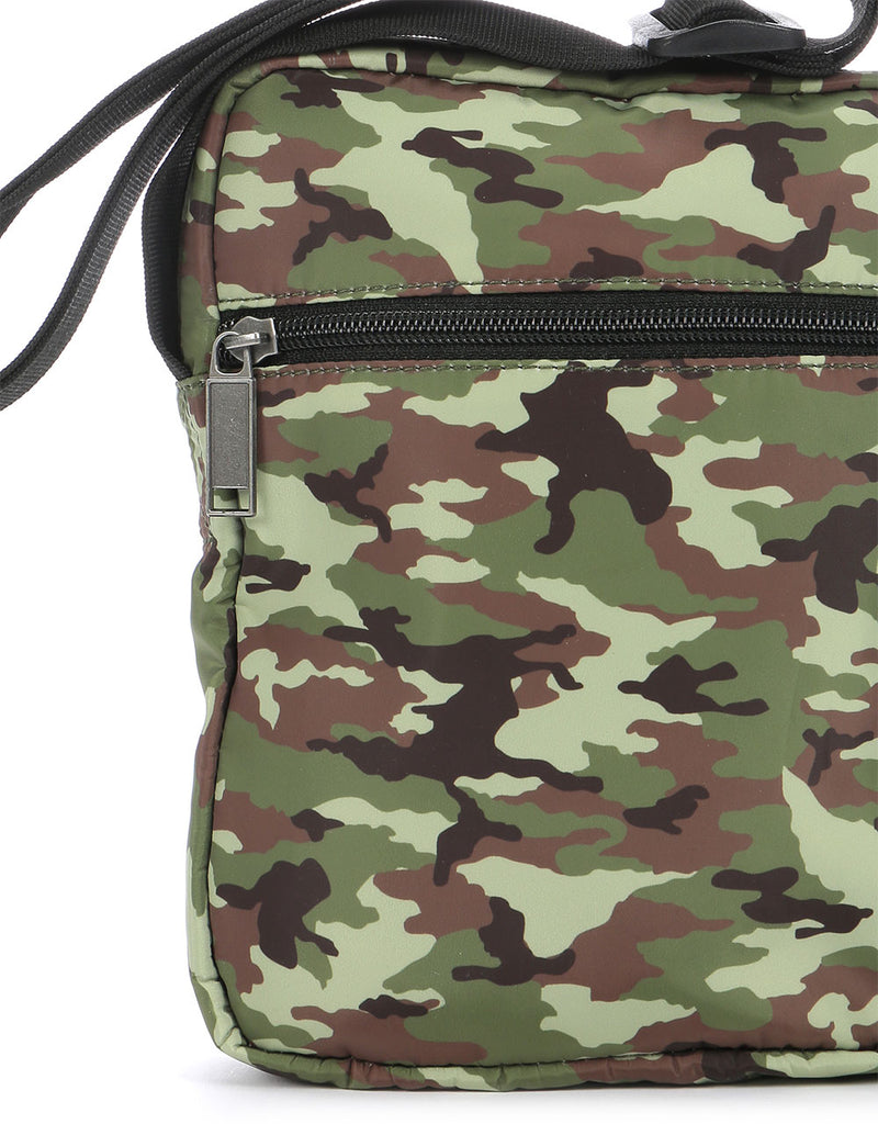 Mi-Pac Nylon Flight Bag - Camo Khaki