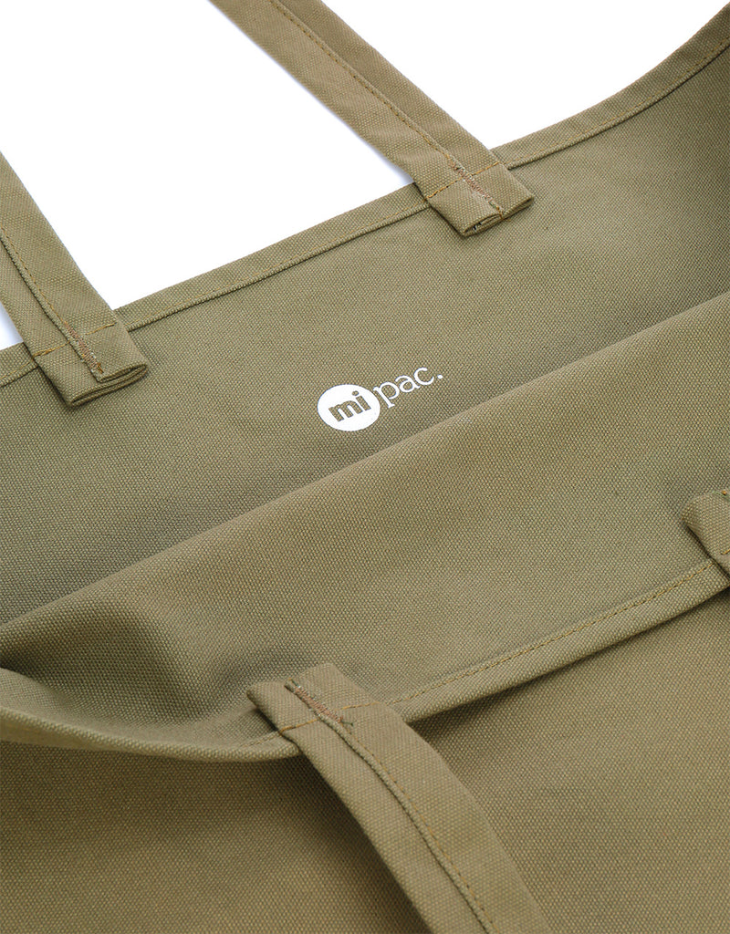 Mi-Pac Canvas Giant Shopper - Khaki