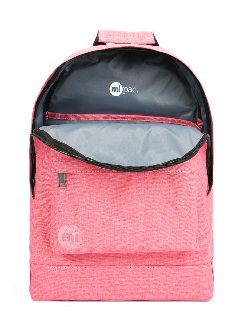 Mi-Pac Crosshatch Backpack - Coral